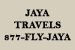 Jaya Travels, 877-FLY-JAYA