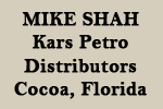 Mike Shah, Kars Petro Distributors, Cocoa, Florida