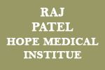 Raj Patel, Hope Medical Institue